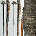 A rare and fine pair of ceremonial swords (kiêm), vietnam, 19th century