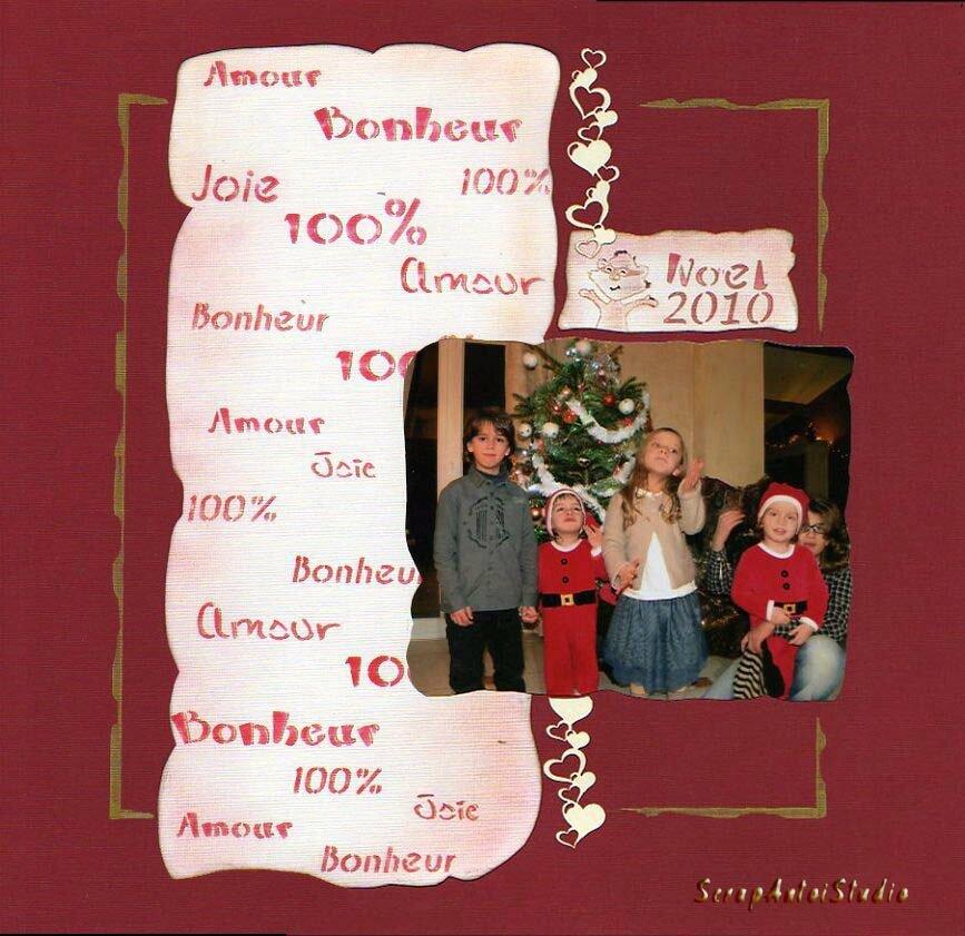 Gabarit Baroque 2010 Noel
