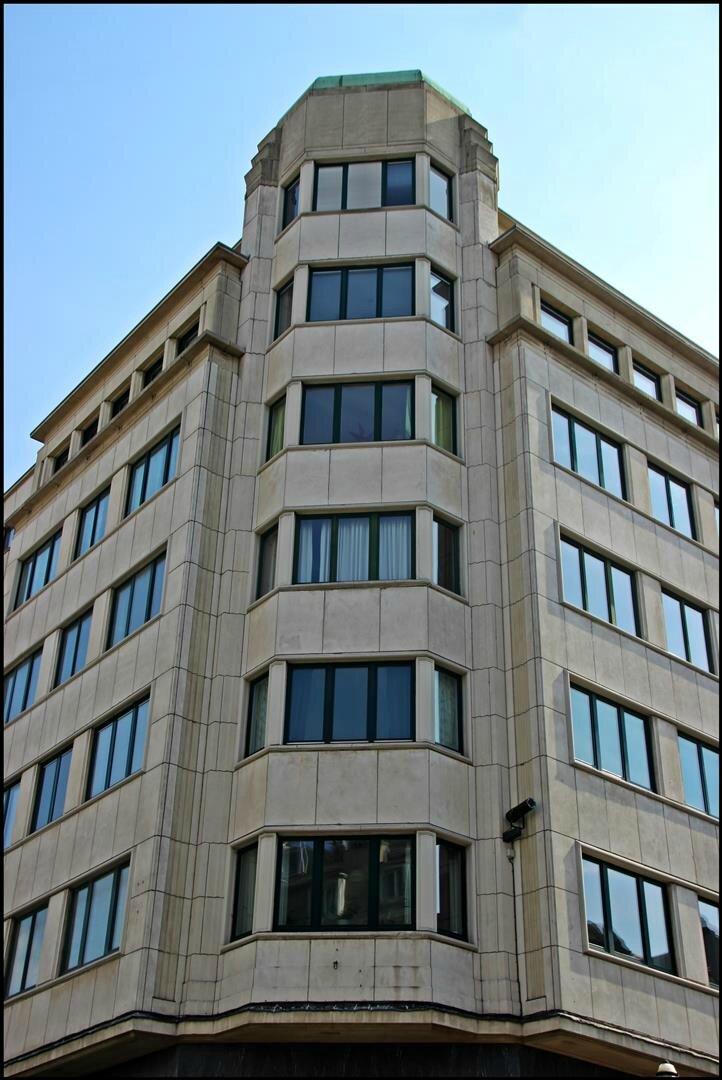 Belle façade bruxelloise
