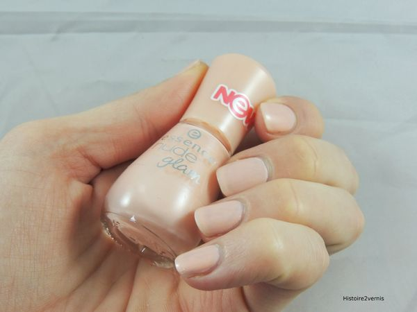 Essence Nude glam Peach and cream (5)