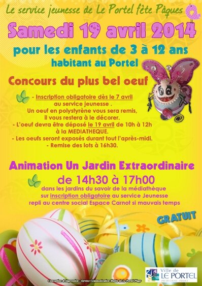 animation paques