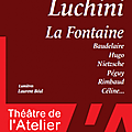 La fontaine et luchini