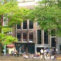 Amsterdam - Maison d'Anne Frank (portes vertes)