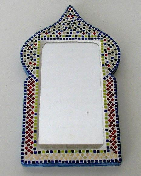miroir oriental nano mosa que photo de mosa ques objets d coration mosa ques ann lascaux. Black Bedroom Furniture Sets. Home Design Ideas