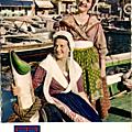 Artisanne marseillaise en tenue du dimanche portant le bonnet fin 19e siècle