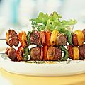 Brochettes catalane