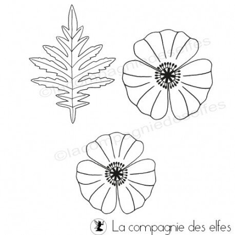 tampon-coquelicot-grand-modele-et-feuille