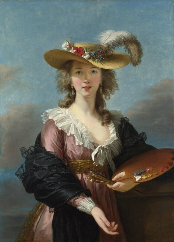 Self-portrait_in_a_Straw_Hat_by_Elisabeth-Louise_Vigée-Lebrun