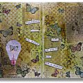 Art journal : page