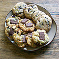 Cookies au chocolat aux noisettes