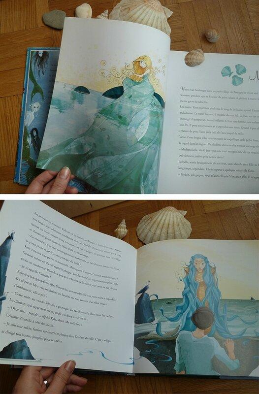 Histoires de sirènes - illustration de Mayalen Goust