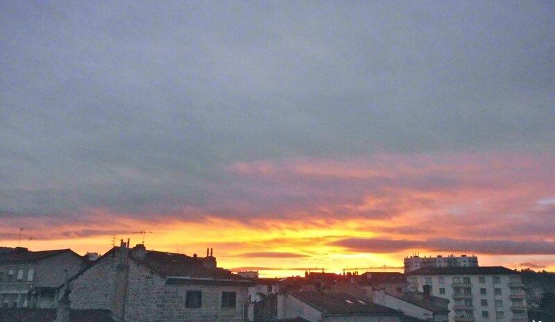 coucher Soleil 3 janv 2015 à 17 h 15