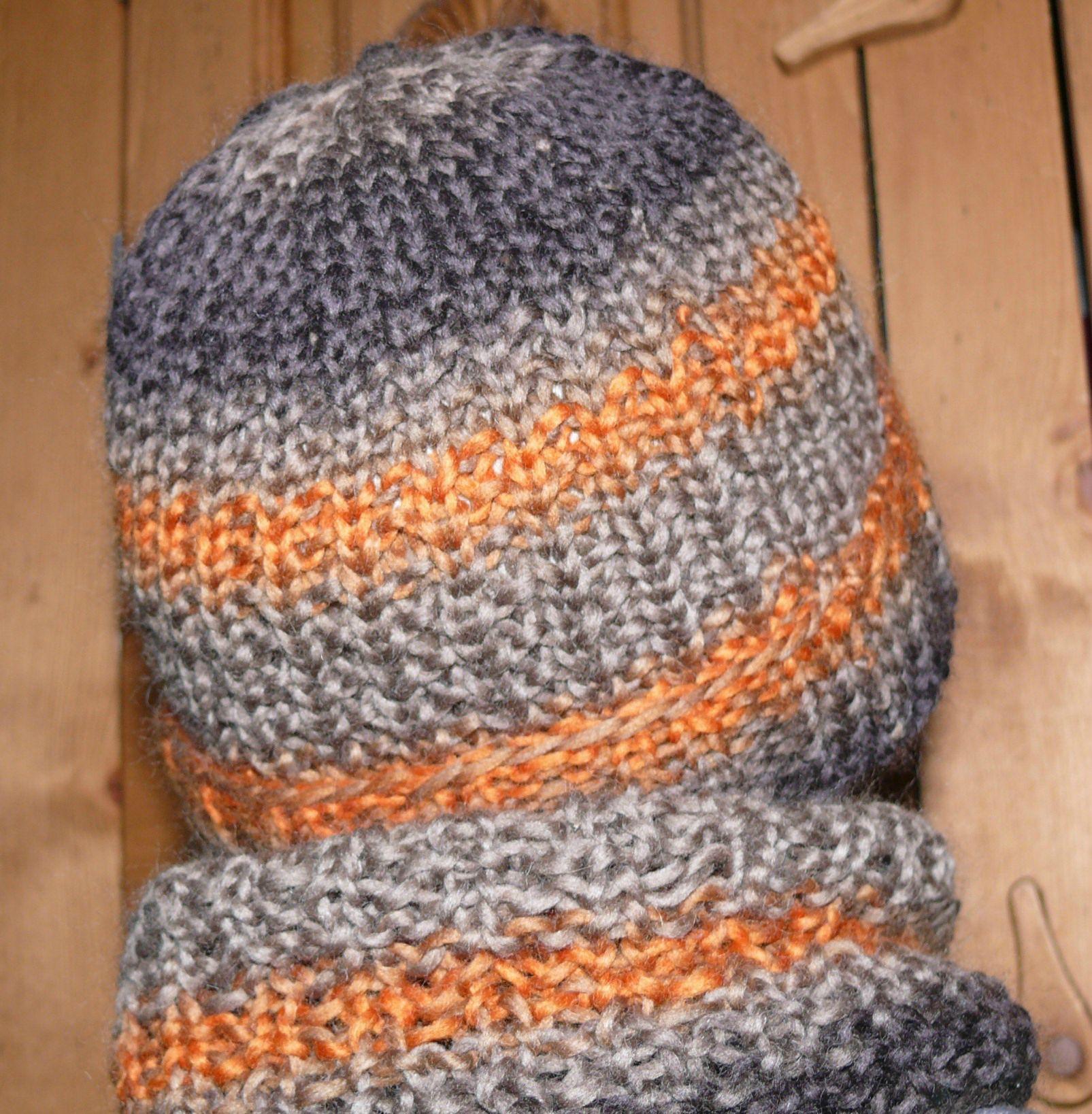 tricoter un bonnet aiguille 5. Black Bedroom Furniture Sets. Home Design Ideas