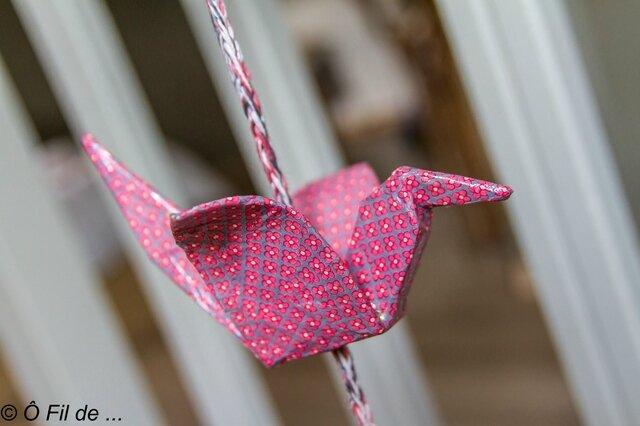 Guirlande origami 8