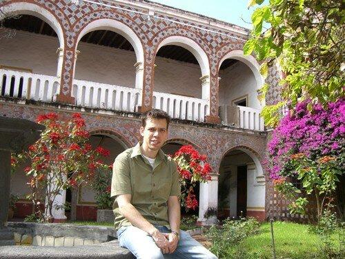 Puebla - Ex-convento Santa Monica Garden