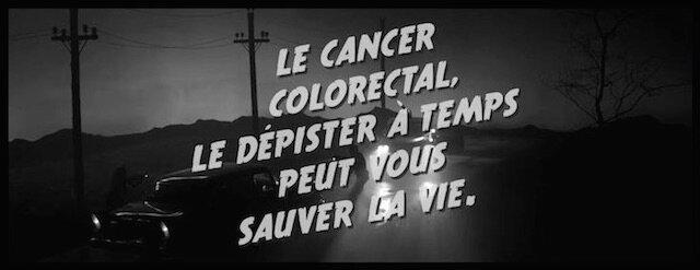 campagne tv depistage du cancer colorectal controle de routine
