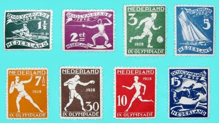 Timbres Amsterdam 1928 R