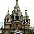 Cathédrale orthodoxe russe st alexandre nevsky