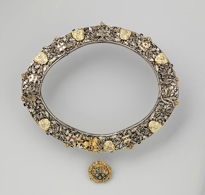 Rijksmuseum acquires an extremely rare medieval chain from a marksmen's guild