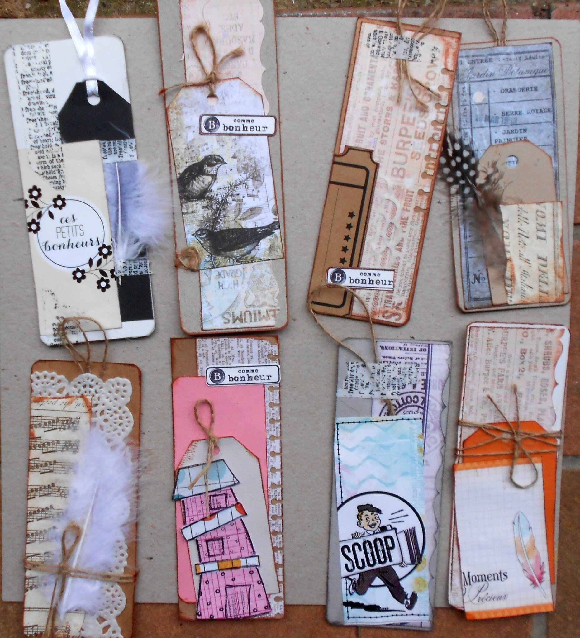 des cartes et des marque pages myriammg scrap. Black Bedroom Furniture Sets. Home Design Ideas