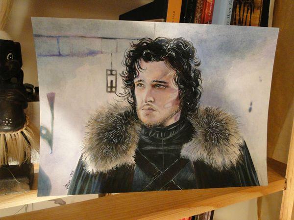 john snow peinture