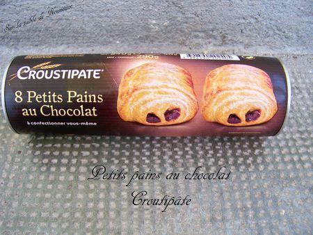 Petits pains au chocolat - croustipâte 1