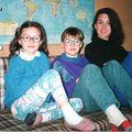 Trio sur canapé
