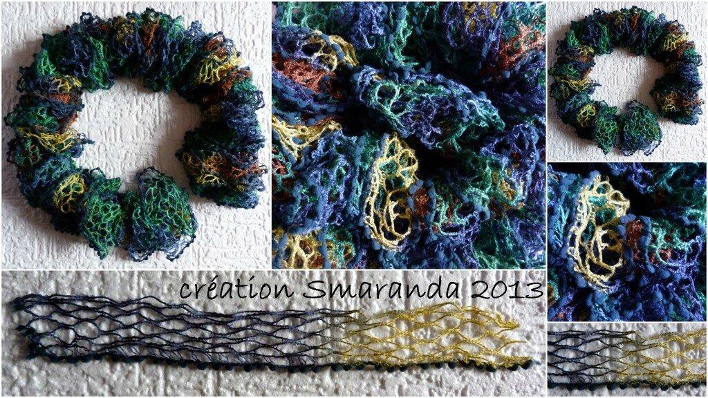comment tricoter une echarpe avec un crochet