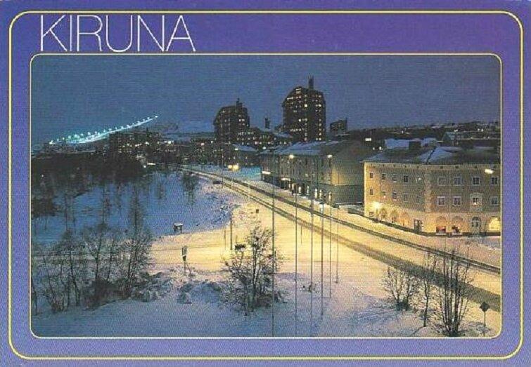 CPM Kiruna Suède