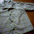 Chemise garçon en coton 2 ans