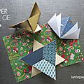 Carte et origami.