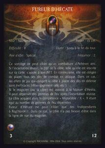 Pack de cartes - fureur_d_hecate (sort)