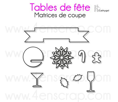 Tables de fête