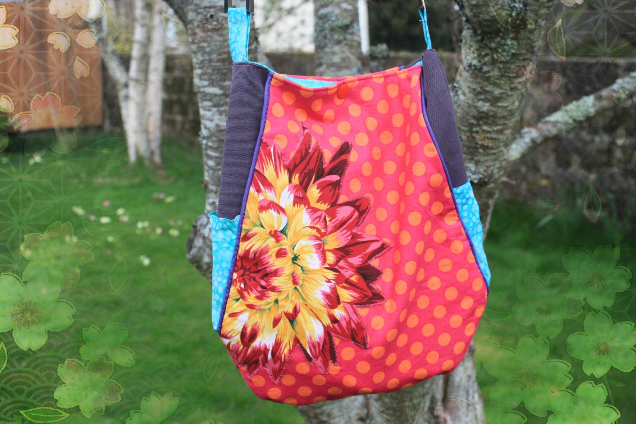 Mon sac de printemps {Concours Abracadacraft / Coudre et Broder/Linna Morata}