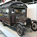 FORD Model TT Motor Home 1924 Bruxelles Autoworld (1)