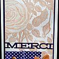 35. vanille, orange et violet - roses anciennes et ruban
