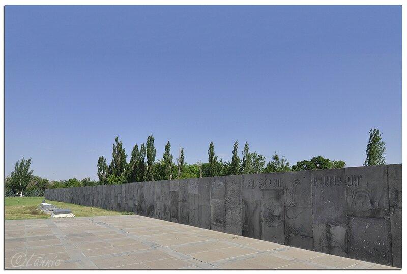 Armenie_Erevan_Memorial_mur