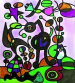 251_ Compositions abstraites_Mêlo Miro D