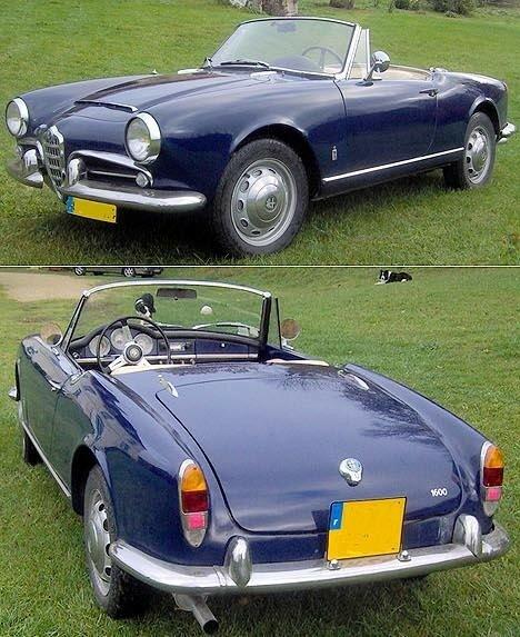 ALFA ROMEO - Giulia 1600 Spider - 1962