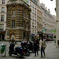 Instantané rue Saint-Honoré.