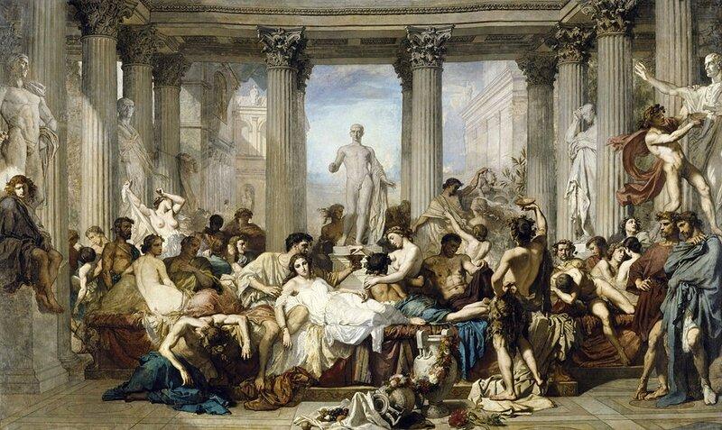 Les romains de la décadence 1847