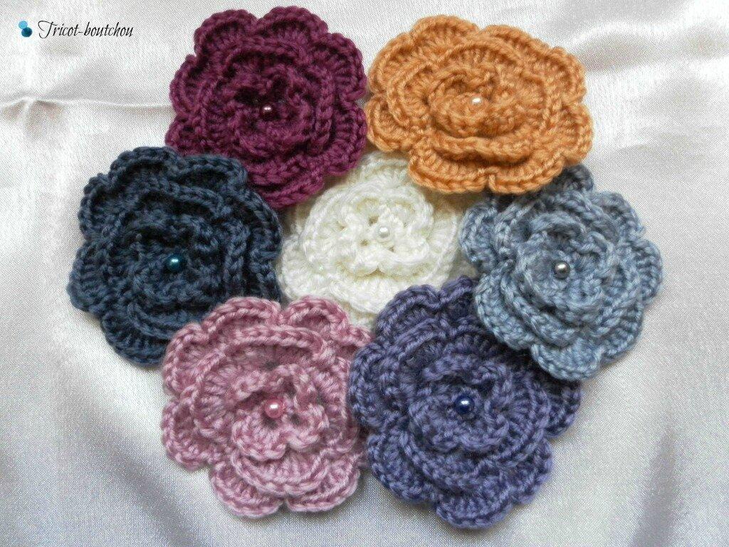Comment tricoter une fleur - Comment tricoter des chaussettes en laine ...