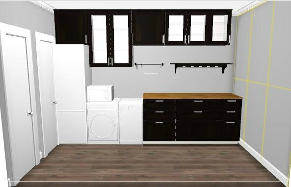 travaux cuisine conception after the chrysalis. Black Bedroom Furniture Sets. Home Design Ideas