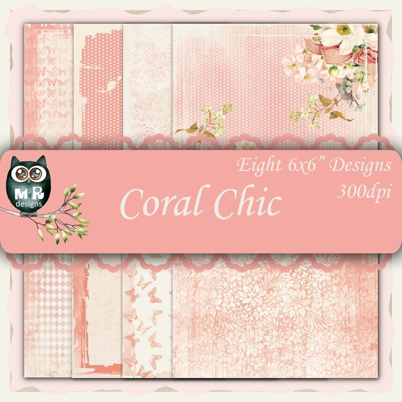Coral Chic Front Sheet