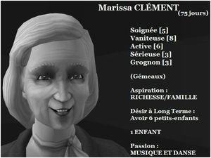 Marissa CLEMENT