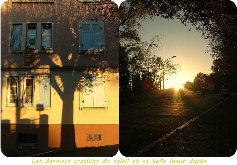 Quartier Drouot - Coucher de soleil