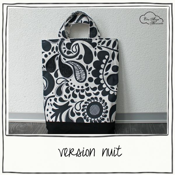 tote reversible version nuit