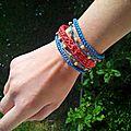 Petit bracelet au crochet