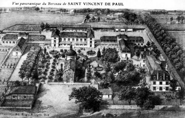 Le Berceau de Saint Vincent de Paul