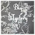 BIG MYSTERY V ...PROJETS 1,2,3 et 4 ...et 5 en dit !
